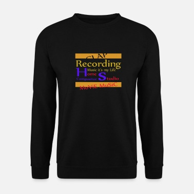 home studio movie music - Sweat-shirt Homme