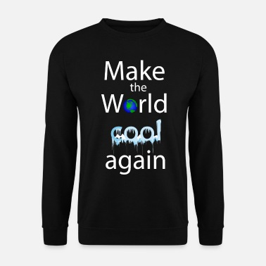 make the world cool again4 - Männer Pullover