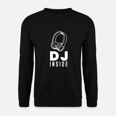 Turn On DJ Records Djane Turntable Music Vinyl - Men's Sweatshirt