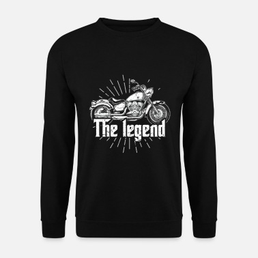 Motor Sport Biker Riding Motorcycle Best Gift For Driver - Men's Sweatshirt