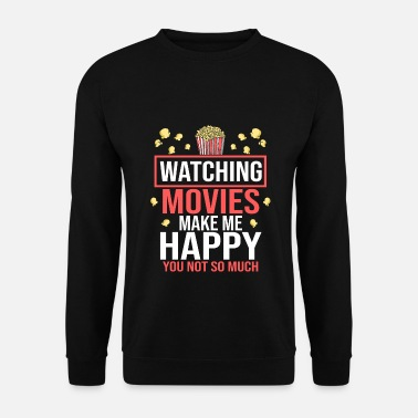 Cinema Movie Movies Cinema Cinema Popcorn Cinema Shows - Men's Sweatshirt