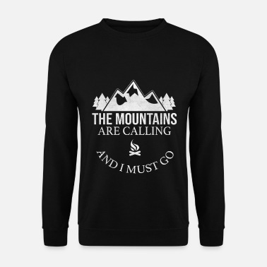 To Camp Camping camping - Men's Sweatshirt