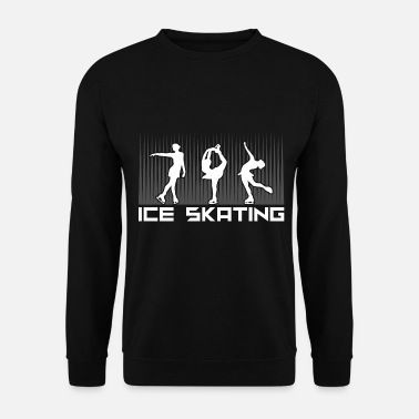 Patinage Sur Glace Patinage sur glace Patinage sur glace Patinage sur glace Patin à glace - Sweat-shirt Homme