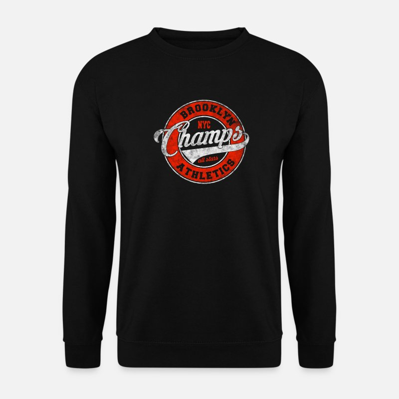 Nyc Hoodies & Sweatshirts - Brooklyn Champs All Stars Sports - Men's Sweatshirt black