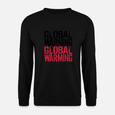 Global Global Warning - Global Warming - Tröja herr