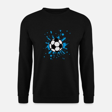 League Cool 2014 Football, Splash, Soccer, Splatter, - Men's Sweatshirt