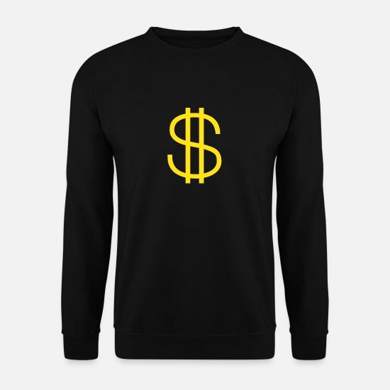 Moneygrubbing Hoodies & Sweatshirts - Rich - Men's Sweatshirt black