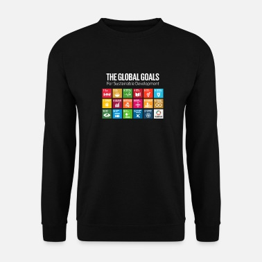 Global The Global Goals 17 Global Goals Icons Grid - Unisex Sweatshirt