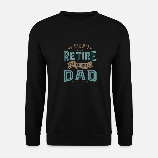 Father's Day Hoodies & Sweatshirts - Professional Dad - Men's Sweatshirt black