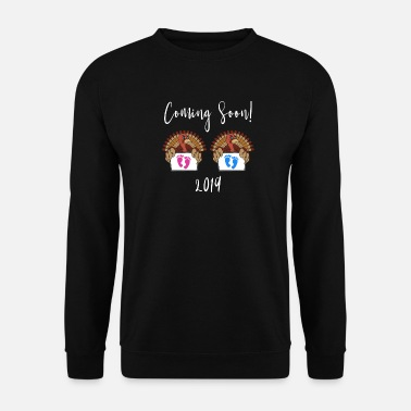 Thanksgiving Baby Annoucement Design kommer snart - Sweatshirt mænd