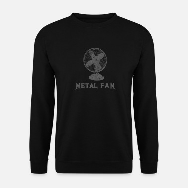 Metal Fan Heavy Metal Funny Rock - Felpa uomo