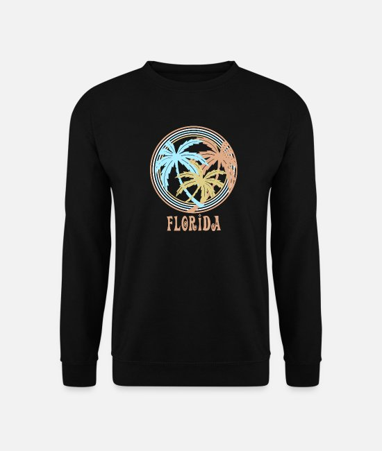 Usa Hoodies & Sweatshirts - Florida - Unisex Sweatshirt black
