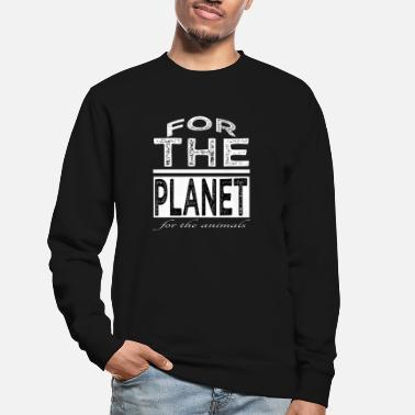 Govegan athlete govegan animal protection present meat - Unisex Sweatshirt
