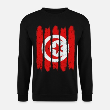Patriote Drapeau national tunisien - Sweat-shirt Homme
