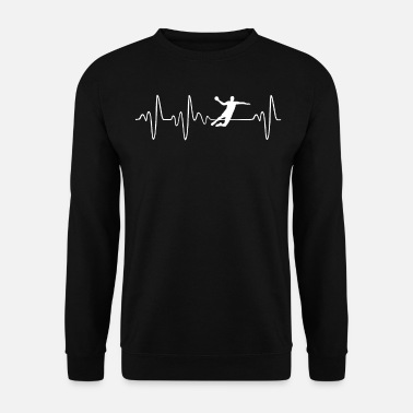 Hobby Battement de coeur de handball - Sweat-shirt Homme
