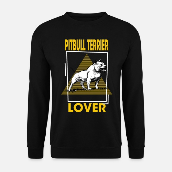 Terrier Hoodies & Sweatshirts - Pit Bull Terrier Lover - Pit Bull Terrier, Pit Bull T - Men's Sweatshirt black