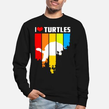 Reptile Conception de tortue en détresse - Sweat-shirt Unisexe