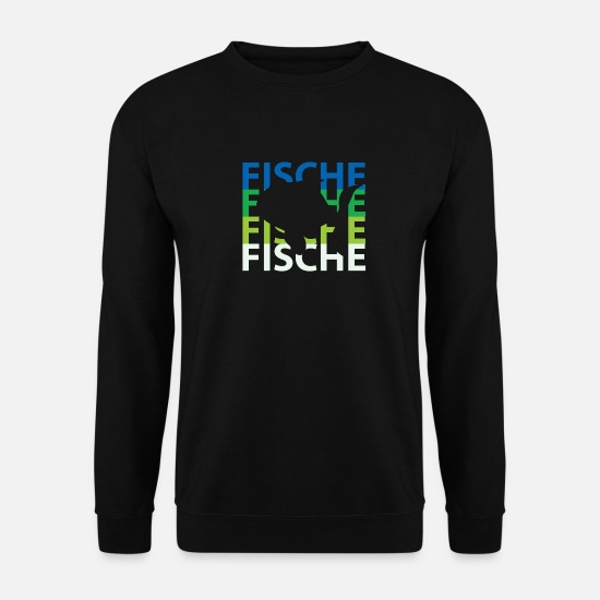Pêche Sweat-shirts - Poisson poisson - Sweat-shirt Homme noir