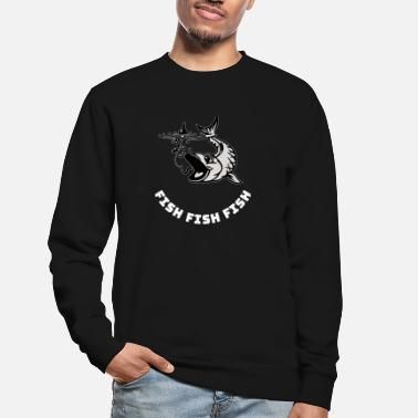 Poison poisson poisson poisson - Sweat-shirt Unisexe