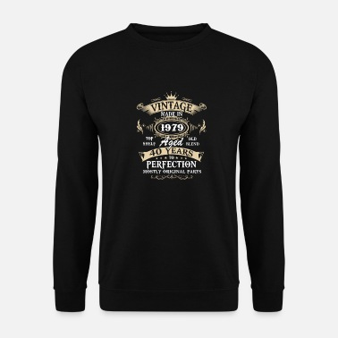 Vintage 40th birthday Vintage 1979 40 Years Perfectly - Men's Sweatshirt