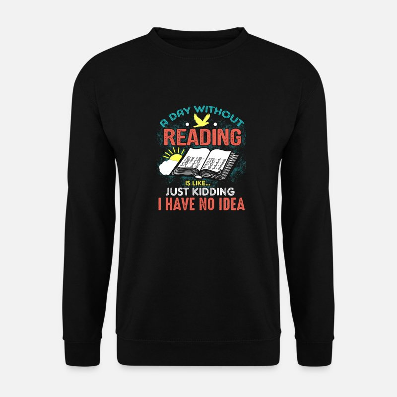 Bible Verse Hoodies & Sweatshirts - Bible Read Every Day God's Word Bible verse saying - Men's Sweatshirt black