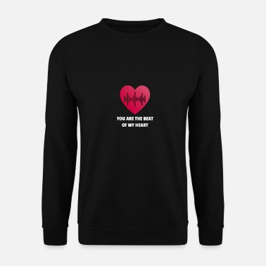 Up Tu es le battement de mon coeur - Sweat-shirt Homme