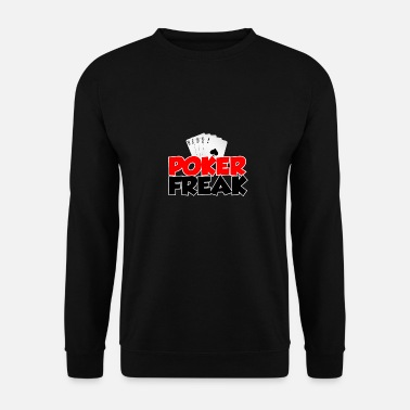 Freak poker - Sweat-shirt Homme