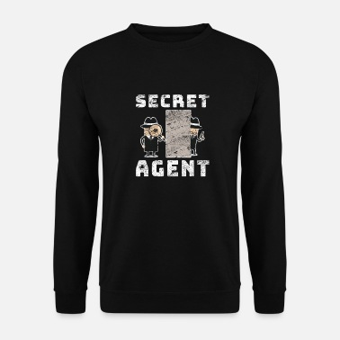 Surveillance agent secret - Sweat-shirt Homme