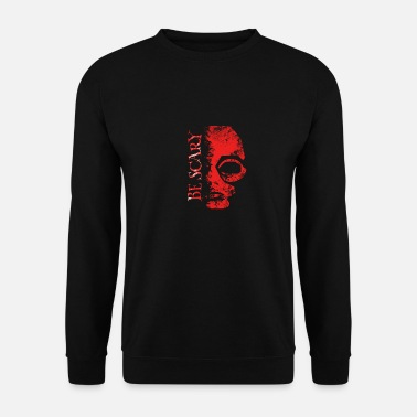 Be scary gruseliges Alien Halloween Design - Männer Pullover