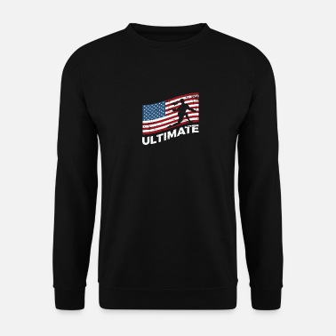 Golf Ultimate Frisbee USA Flag Disc Golf - Sweatshirt unisex