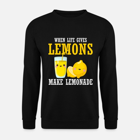 Fête Sweat-shirts - Stand de limonade enfants fruits citron aigre - Sweat-shirt Unisex noir