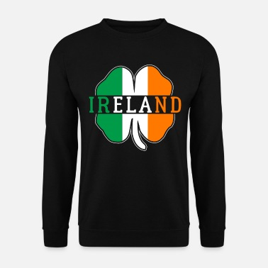 Destinazione Irlanda Irish Flag Country Nation Funny Patriot - Felpa uomo