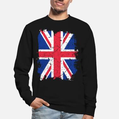 Uk UK UK flag - Sweat-shirt Unisexe