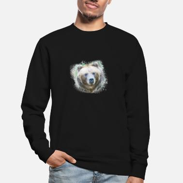 Ecology Bear Brown Grizzly Wild Animal Jungle Nature - Unisex Sweatshirt