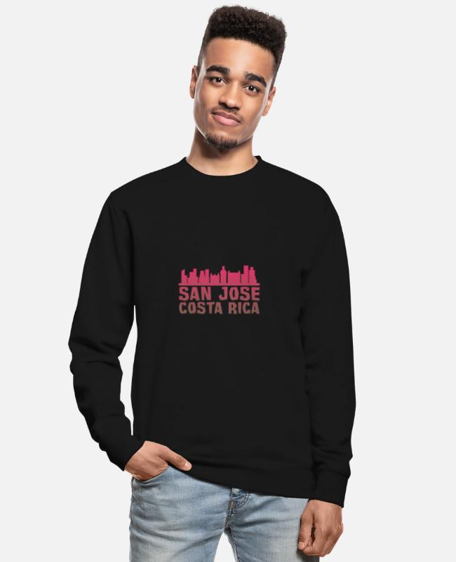 South America Pullover & Hoodies - San Jose - Unisex Pullover Schwarz