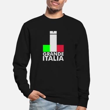Football Underwear Italia Italy flag - grande italia - provocative - Unisex Sweatshirt