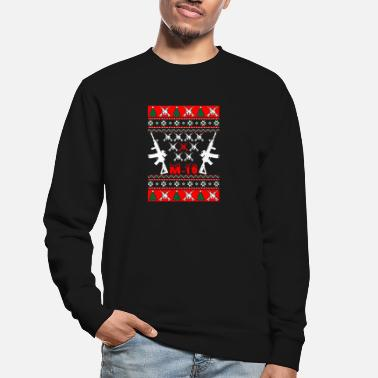 M-16 Kerst T-shirt M 16 - Unisex sweater