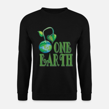 Planet nature save the world save earth protect - Men's Sweatshirt