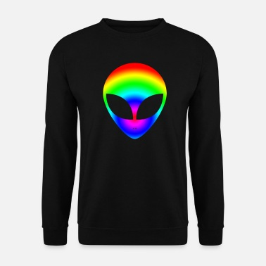 Spacemonster Alien Ufo Peace Spacemonster Discovery Spaceship - Unisex Sweatshirt