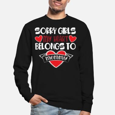 Trevligt Sorry Girls my Heart I Sorry Girls my Heart - Tröja unisex
