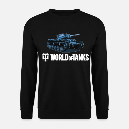 World Of Tanks Hoodies & Sweatshirts - World of Tanks Blue KV1S - Unisex Sweatshirt black