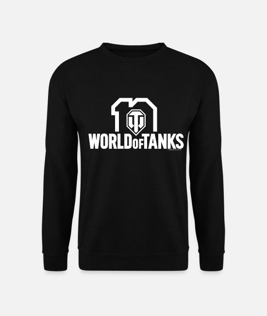 Wargaming Pullover & Hoodies - World of Tanks 10th Anniversary Logo - Unisex Pullover Schwarz