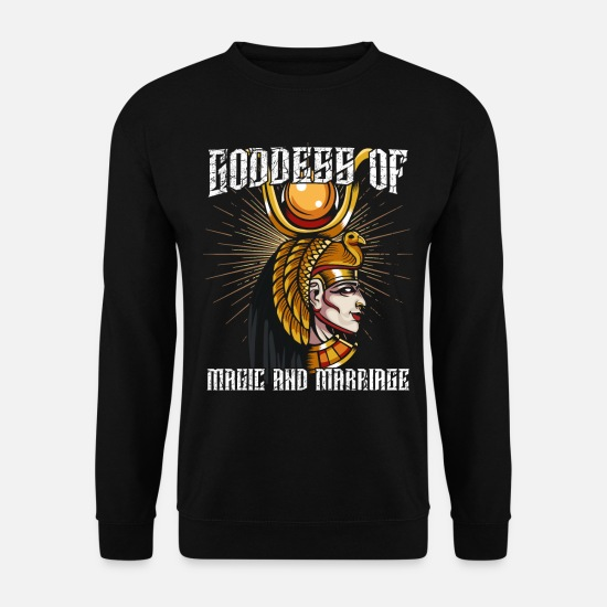 Gift Idea Hoodies & Sweatshirts - Goddess of Magic Isis Ancient Egyptian Mytisch - Unisex Sweatshirt black