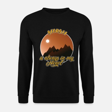 Region Georgien for evigt i hjertet - Sweatshirt unisex