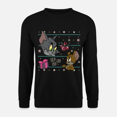 Weihnachten Tom und Jerry Ugly X-Mas Ho! Oh! Oh! - Unisex Pullover