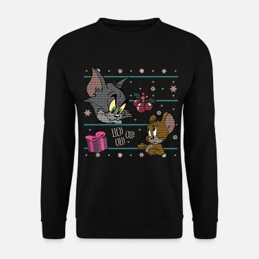 Weihnachtspullover Familie,Unisex Weihnachten Sweatshirt Damen Herren Jungen M/ädchen Elch Rentier Weihnachtskleidung Familienpullover f/ür Mutter Vater Kinder