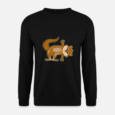 Animal De Zoo Drôle de méditation de yoga de la loutre Cadeau - Sweat-shirt Unisexe