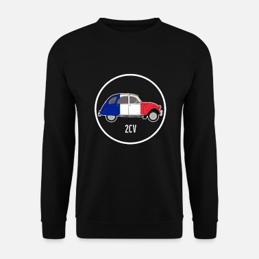 Car France duck 2CV car classic car gift France - Unisex Sweatshirt