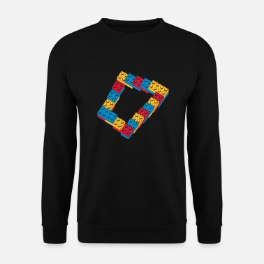 Vorm optical illusion - endless stairway - Unisex sweater