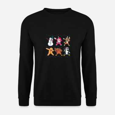 Advent Christmas Dabbing Nicholas Holidays Gift - Unisex Sweatshirt